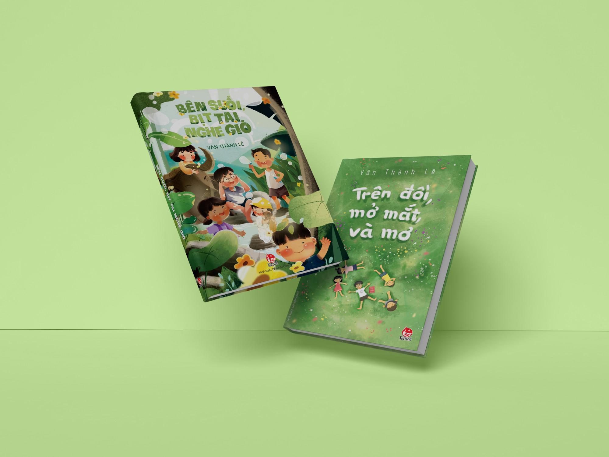 Hai tác phẩm dành cho thiếu nhi được ra mắt gần đây của nhà văn Văn Thành Lê.
