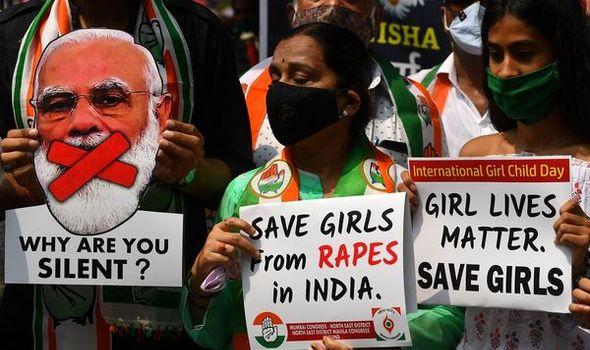 Ấn Độ là một trong những quốc gia tồi tệ nhất về nạn hiếp dâm - Ảnh: The Express/Getty Images