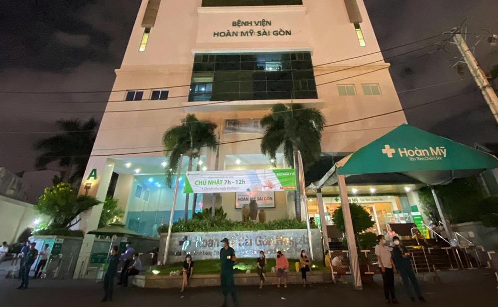 Bệnh viện Hoàn Mỹ Sài Gòn đang được phong tỏa tạm thời