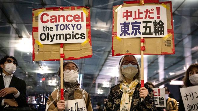 Người dân Nhật Bản phản đối tổ chức Olympic