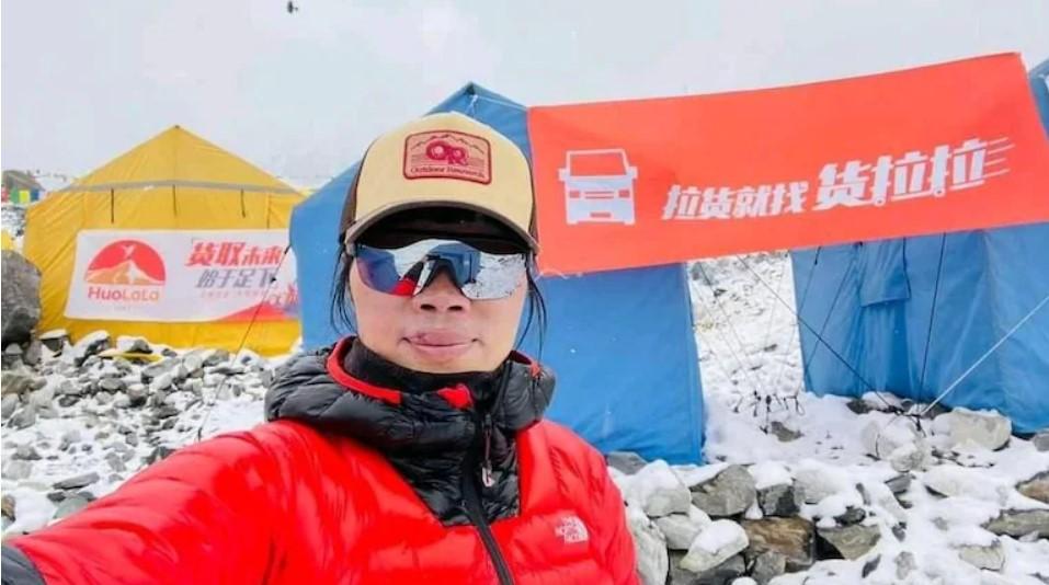 Nhà leo núi Hồng Kông Tsang Yin-hung đã trở thành người phụ nữ chinh phục Everest nhanh nhất