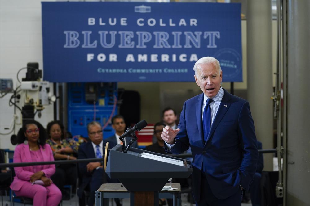 Chính quyền Tổng thống Joe Biden đệ trình Quốc hội kế hoạch ngân sách 6.000 tỷ USD.