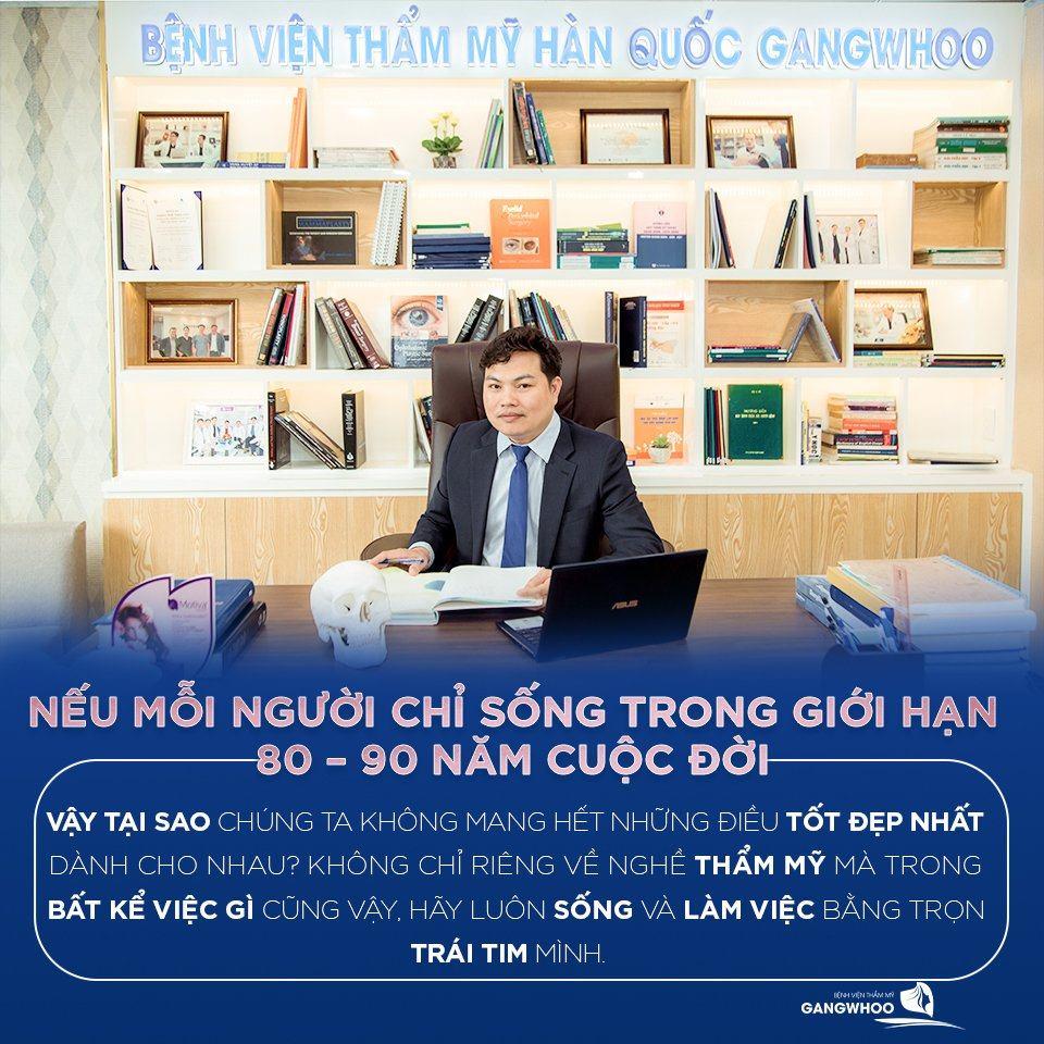 Bác sĩ Phùng Mạnh Cường (Giám đốc BVTM Gangwhoo)