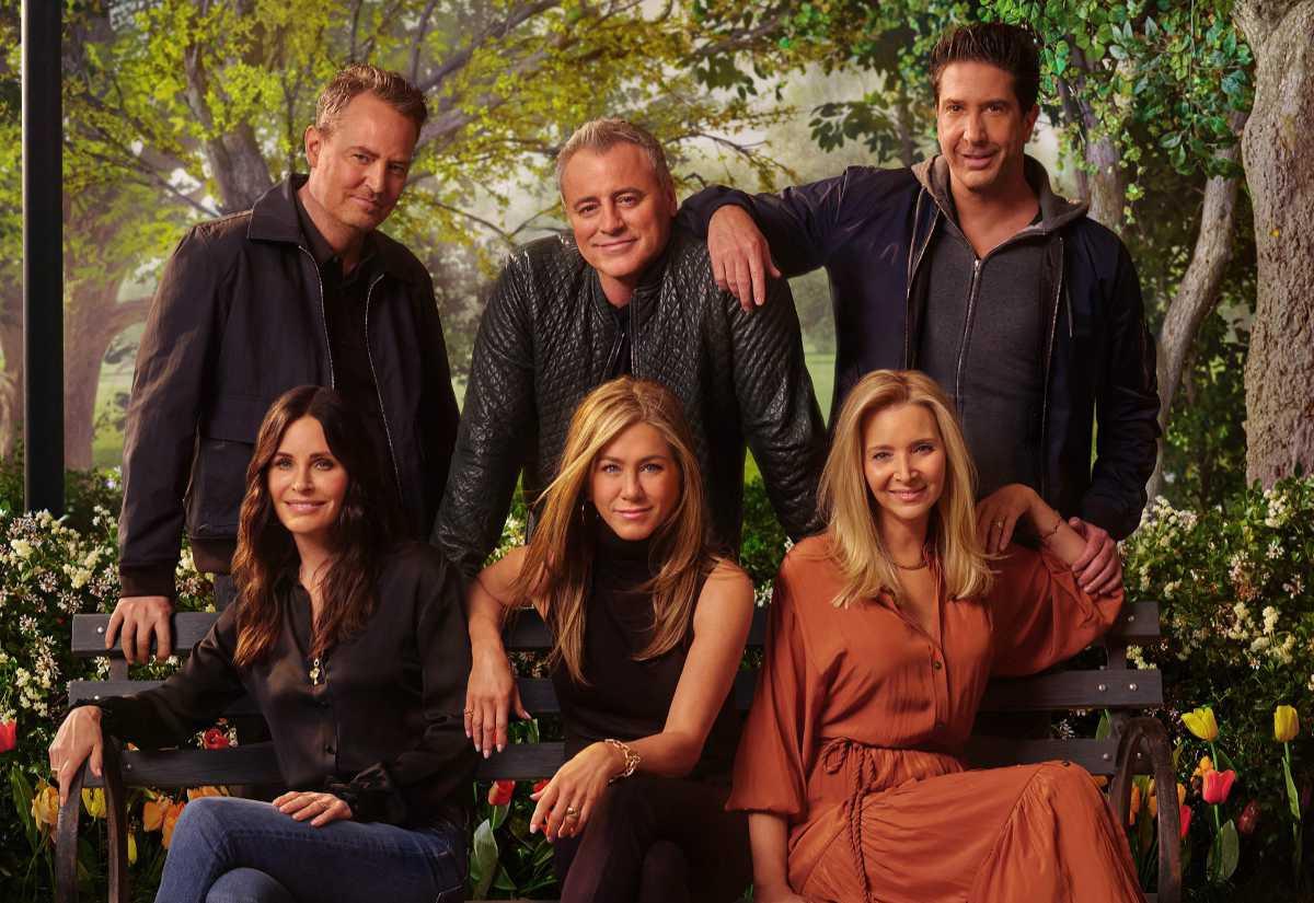 Dàn diễn viên chính trong Friends được yêu thích qua nhiều năm.