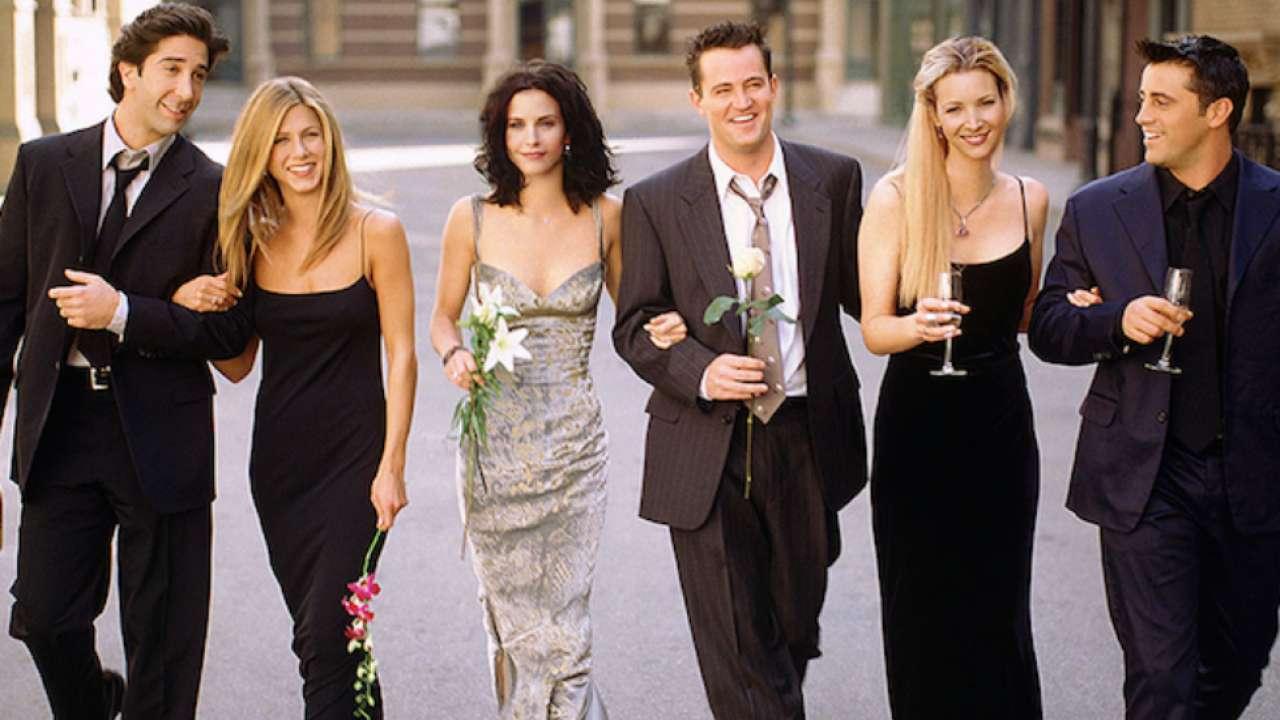 Hình ảnh hơn 25 năm trước của dàn diễn viên Friends.