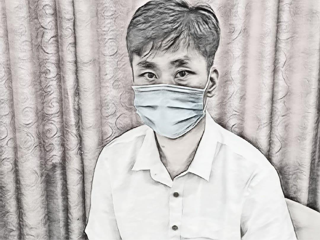 Ou Yang Fei bị công an phát hiện trong một khách sạn trên địa bàn thành phố Thanh Hóa