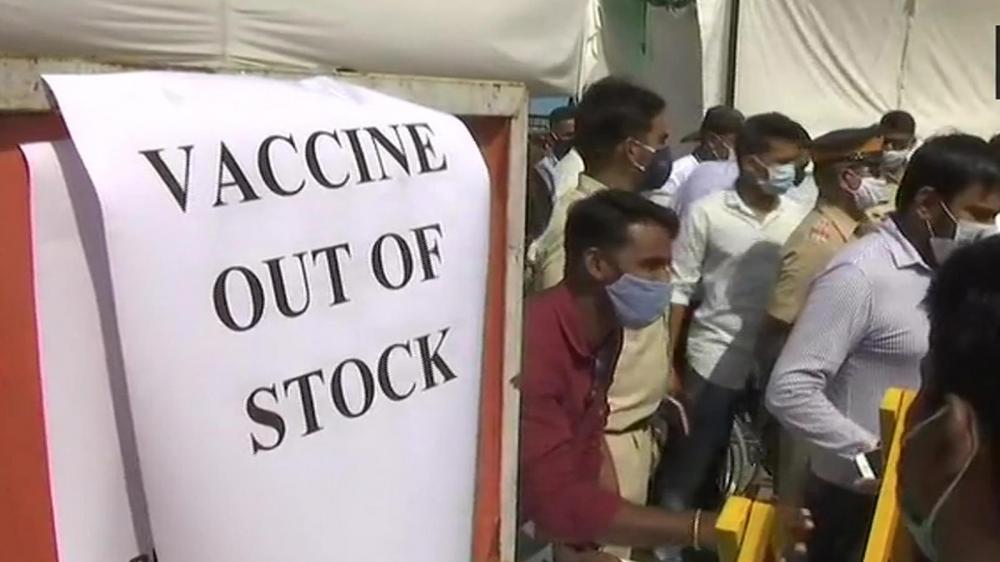 Ấn Độ hiện mới tiêm chủng được 3,1% dân số do tình trạng cạn kiệt vắc-xin trong nước - Ảnh: Getty Images