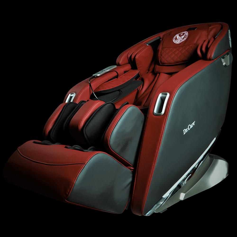 Ghế massage Dr.Care Xreal 923 màu đen nội thất đỏ