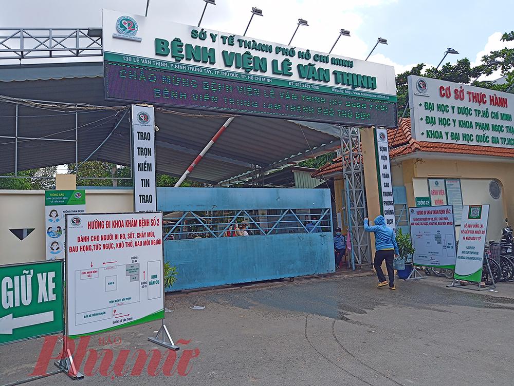 Bệnh viện Lê Văn Thịnh (Bệnh viện Quận 2 cũ) tại phường Bình Trưng Tây, TP.Thủ Đức đã có một số thay đổi phù hợp