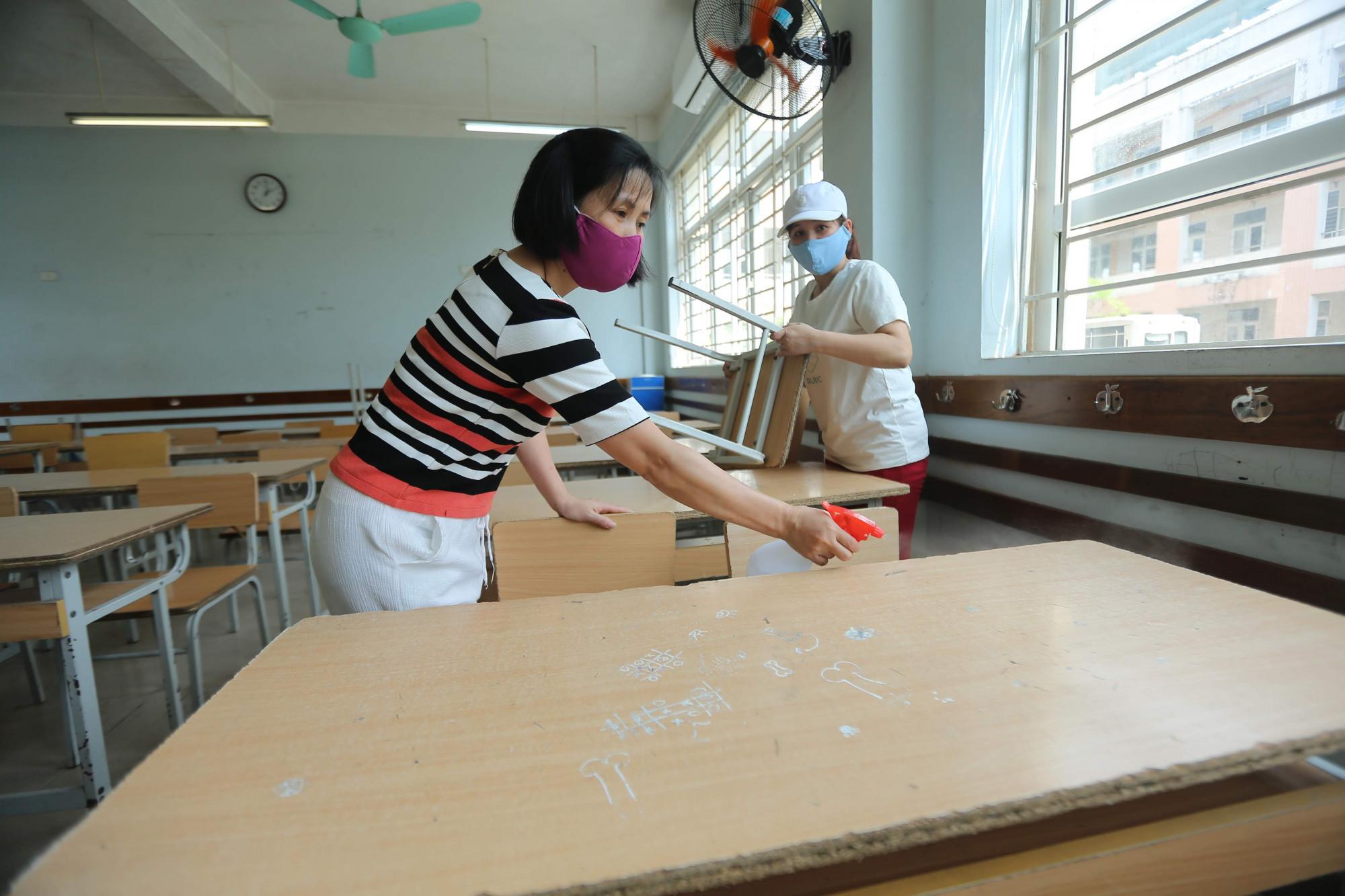 Hà Nội đang sẵn sàng cho các kỳ thi của học sinh.