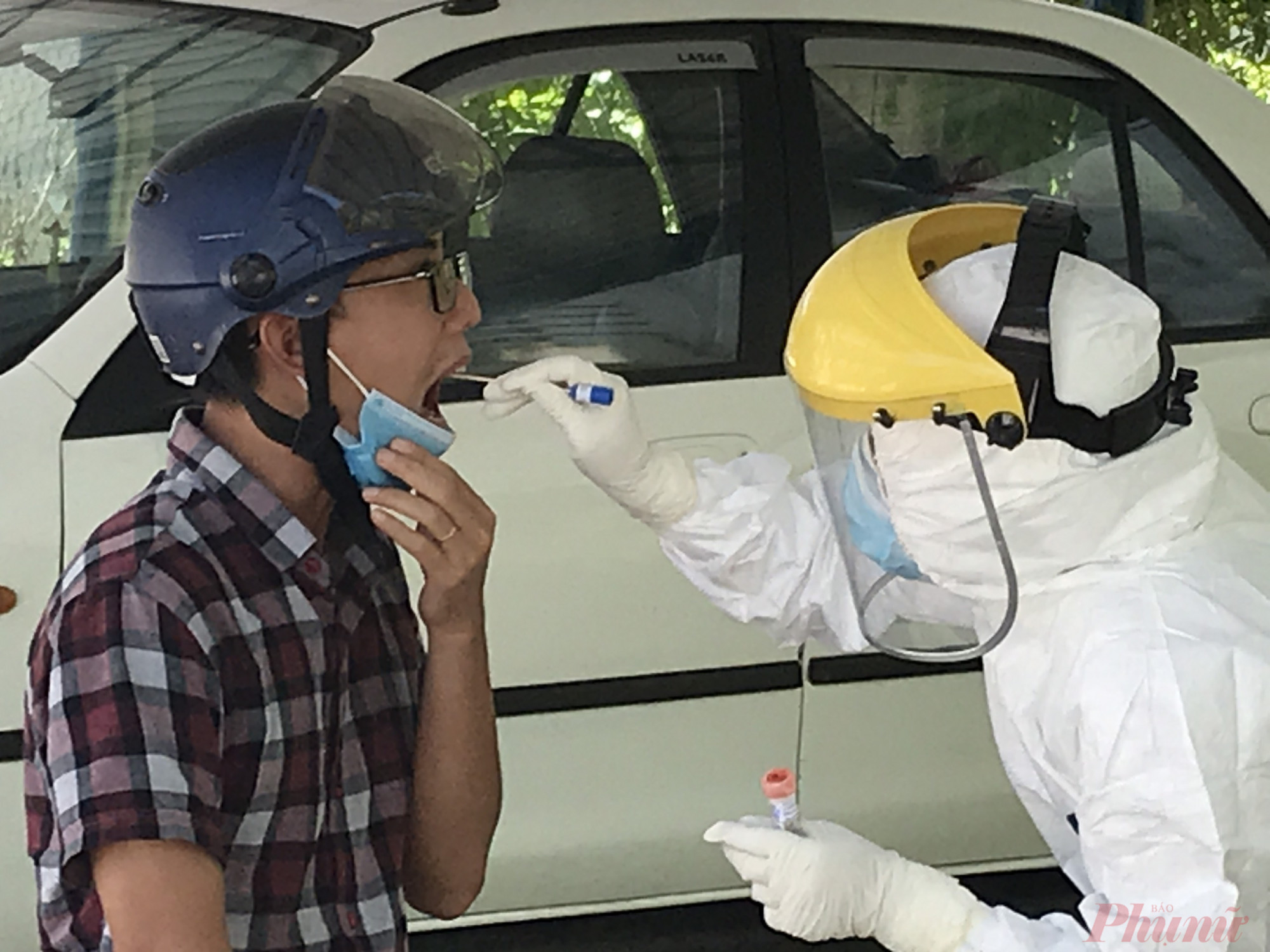 cầu người từ TP. Hồ Chí Minh về tỉnh  từ ngày 15 đến 30/5 phải đi khai báo y tế.