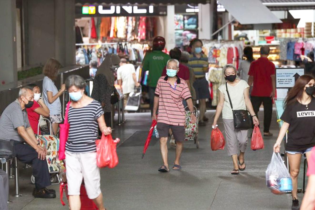 Là nước có tỷ lệ tiêm chủng cao nhất trong khu vực Đông Nam Á  nhưng Singapore cũng đang đối mặt với những ca nhiễm mới xuất hiện