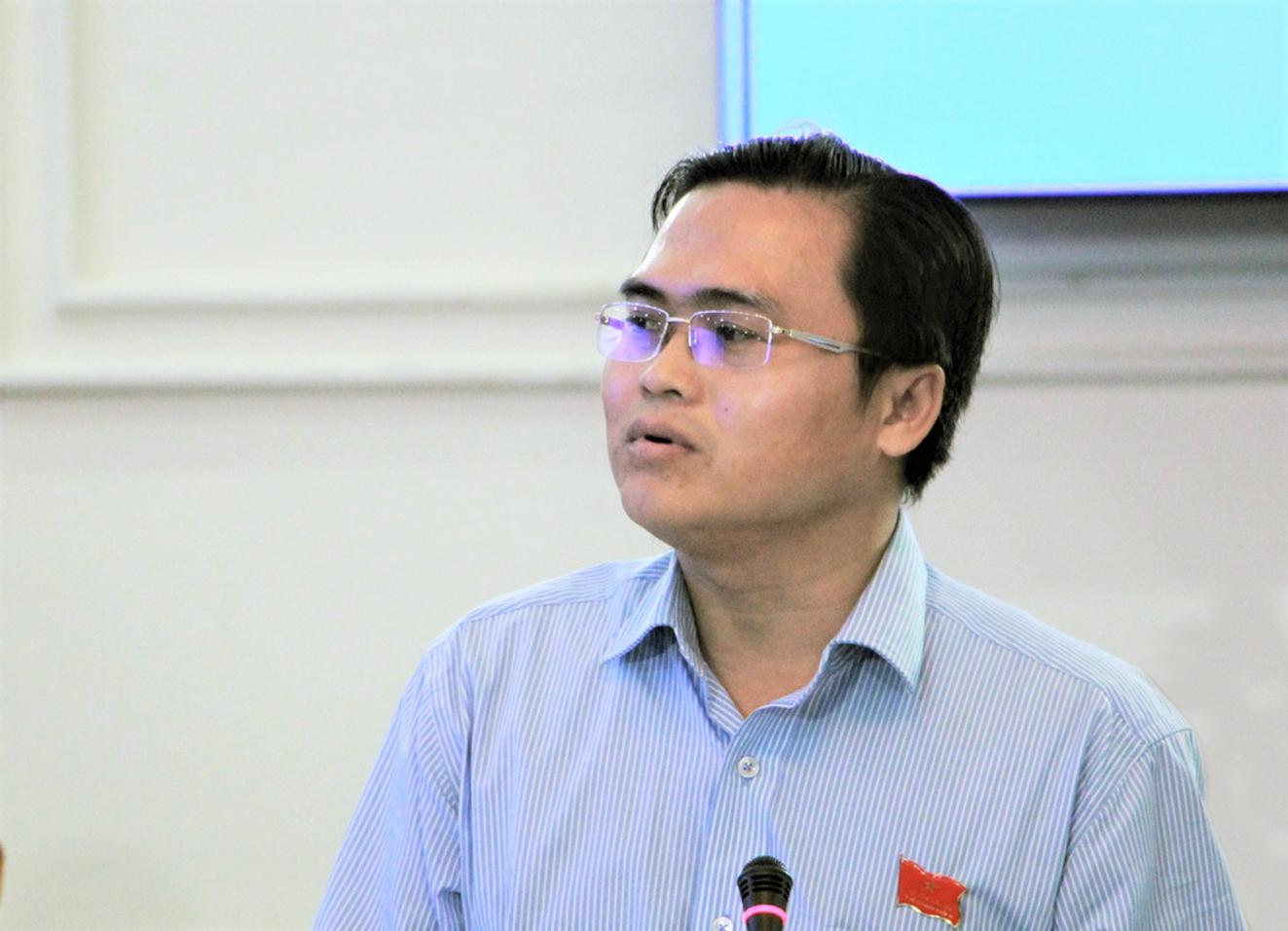 Ông Cao Thanh Bình - Chánh văn phòng Đoàn đại biểu Quốc hội và HĐND TPHCM