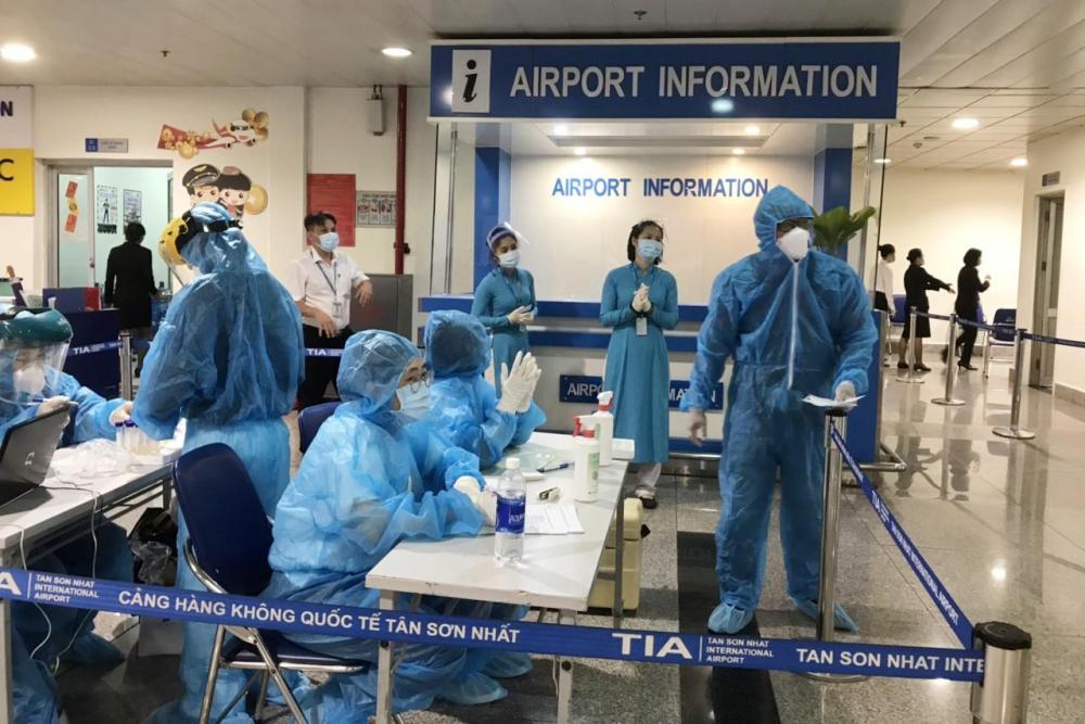 Cục  hàng  không  cho  phép  nhập  cảnh  trở  lại ở Tân  Sơn Nhất  và Nội Bài. (Ảnh  minh  hoạạ)