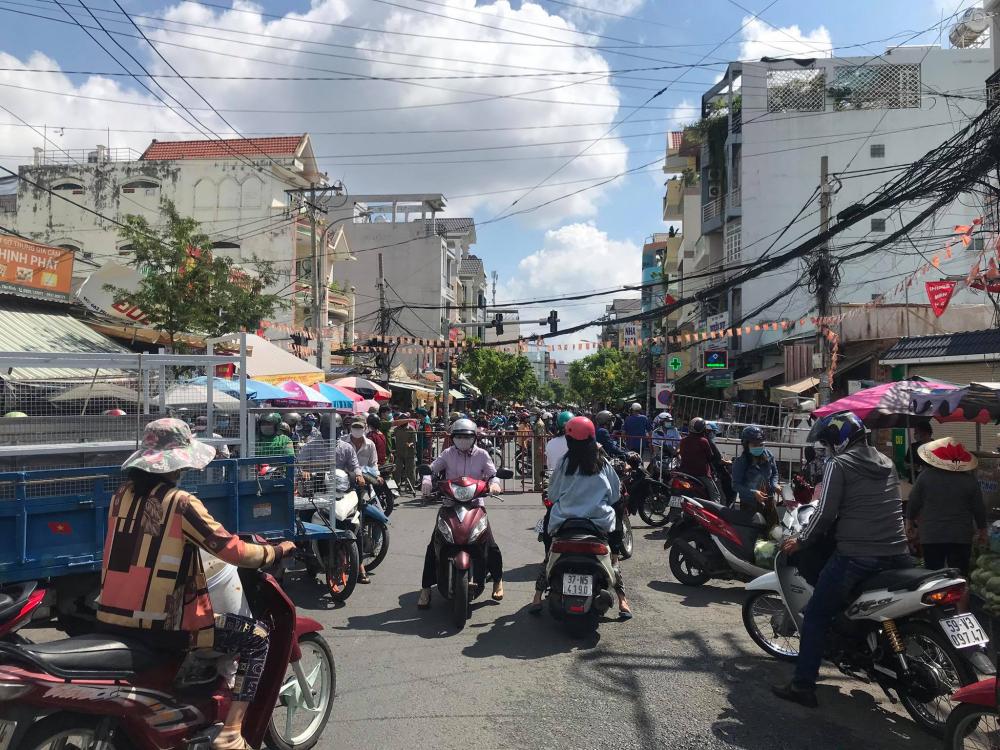 Công văn của Sở Giao thông vận tải TPHCM nhằm góp phần giải quyết tình trạng ùn tắc tại các chốt kiểm soát ra vào quận Gò Vấp 2 ngày qua.