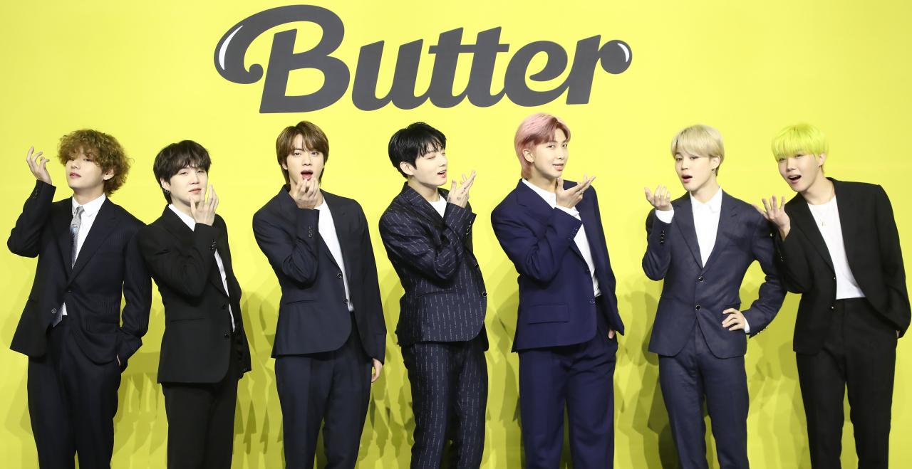 BTS xuất sắc dẫn đầu bảng xếp hạng Billboard Hot 100 với ca khúc Butter.