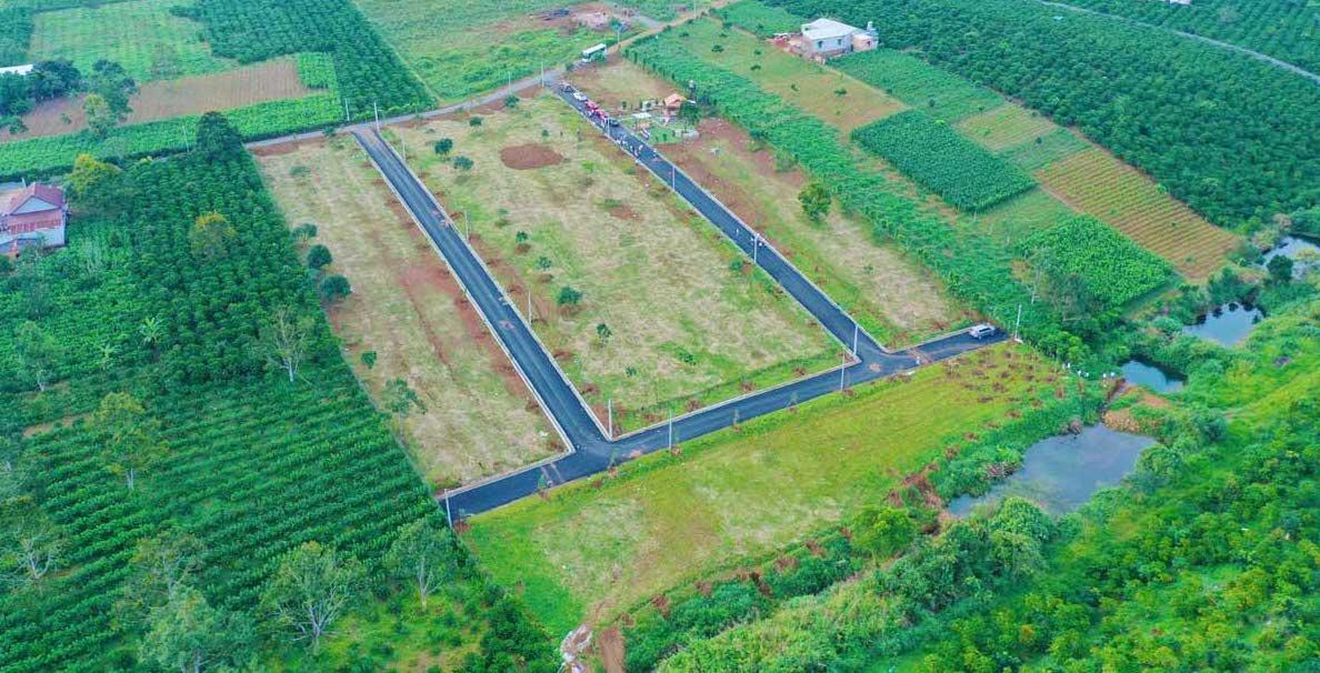 Dự án Jade Garden Hill nằm ngay tại 134 Phùng Hưng, Phường Lộc Tiến, Thành phố Bảo Lộc