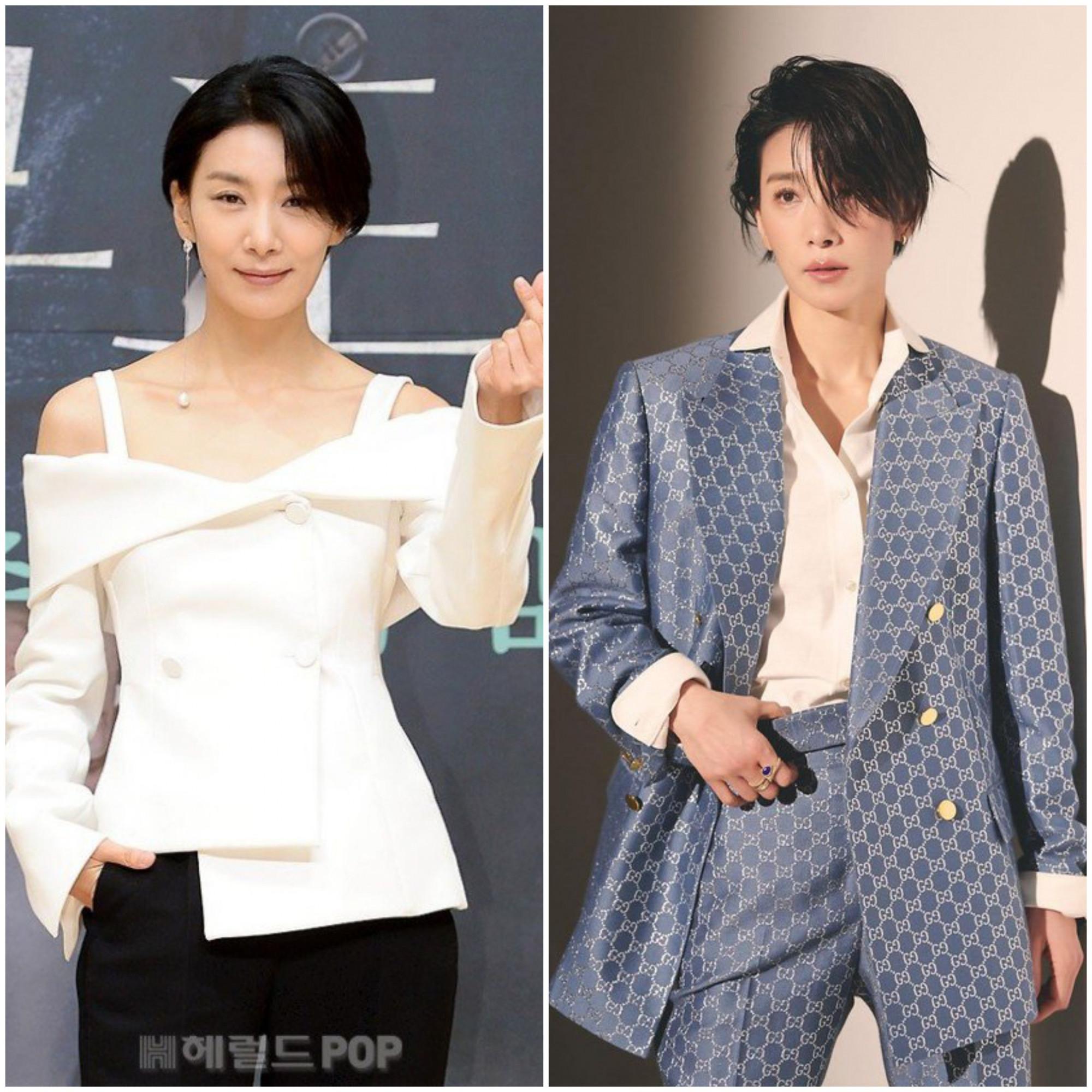 Chính vẻ ngoài cá tính trên càng giúp Kim Seo Hyung tỏa sáng trong các dạng vai phản diện qua loạt phim
