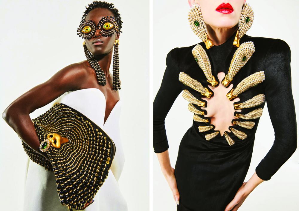 Mùa thời trang 2021-2022, giới thời trang chứng kiến sự trở lại của nhạc rock trong  hàng loạt thiết kế trang phục và phụ kiện