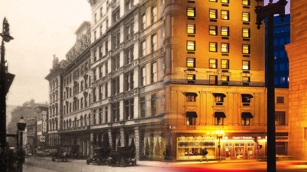 Khách sạn Omni Parker House xưa và nay