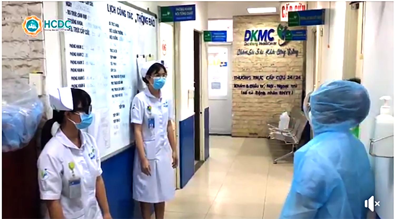 Cơ quan chức năng điều tra dịch tễ tại BV đa khoa Đức Khang, quận 5