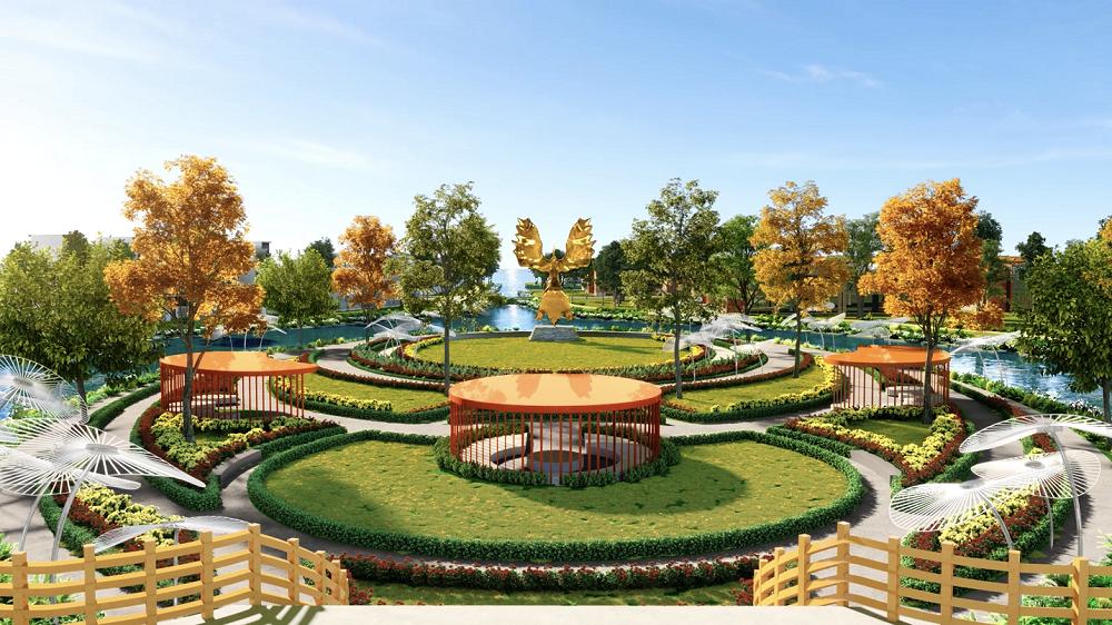 Tại Aqua City, cư dân dễ dàng tiếp cận mảng xanh đa dạng từ nhà ra phố