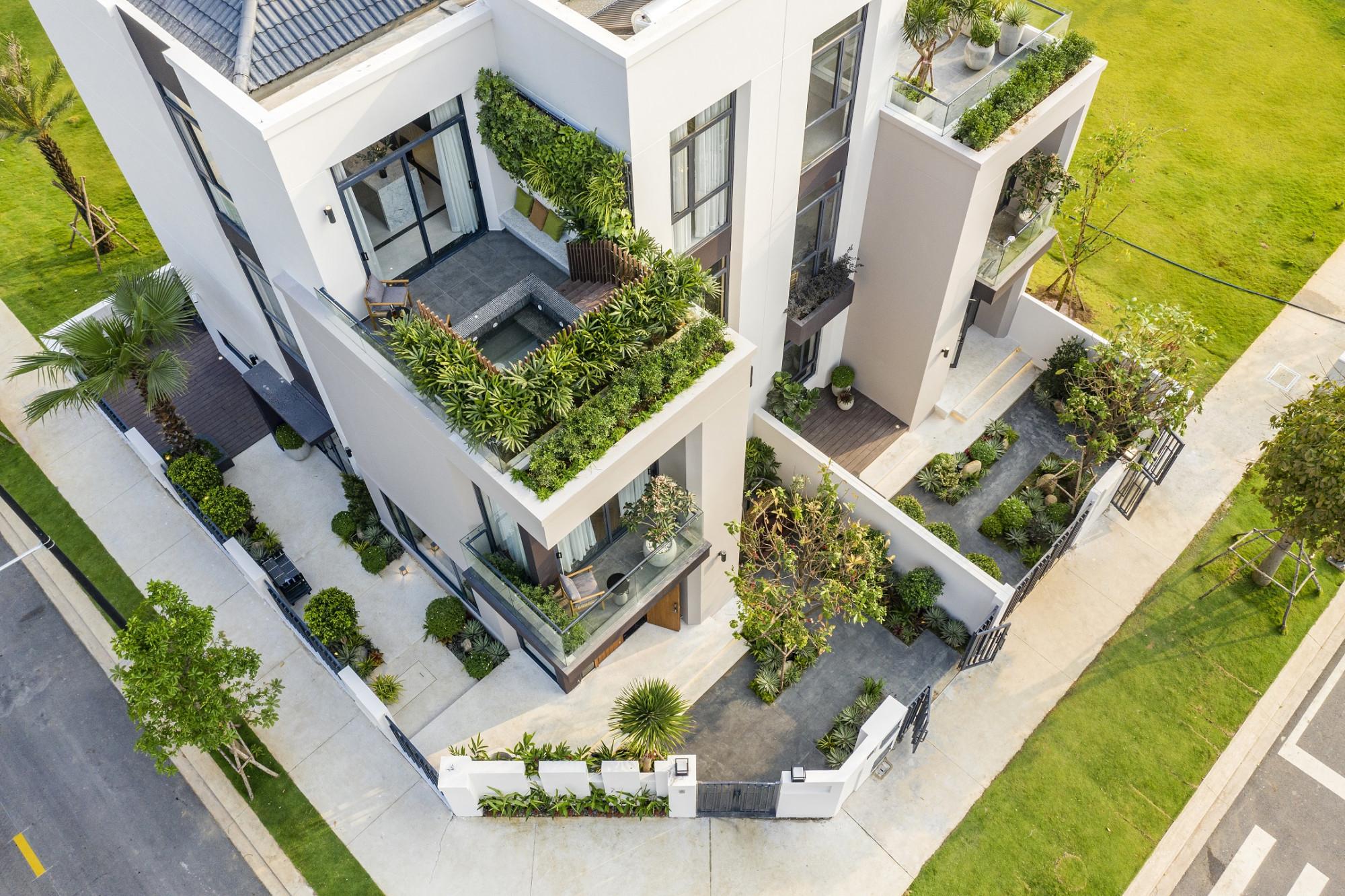 Mỗi căn nhà tại Aqua City đều được tối ưu khoảng xanh riêng tư cho gia chủ