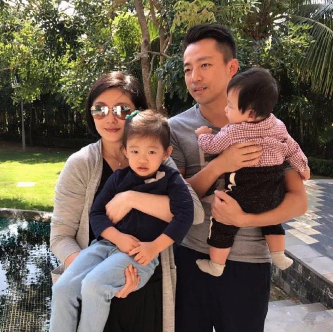 Gia đình nhỏ 4 thành viên của Từ Hy Viên
