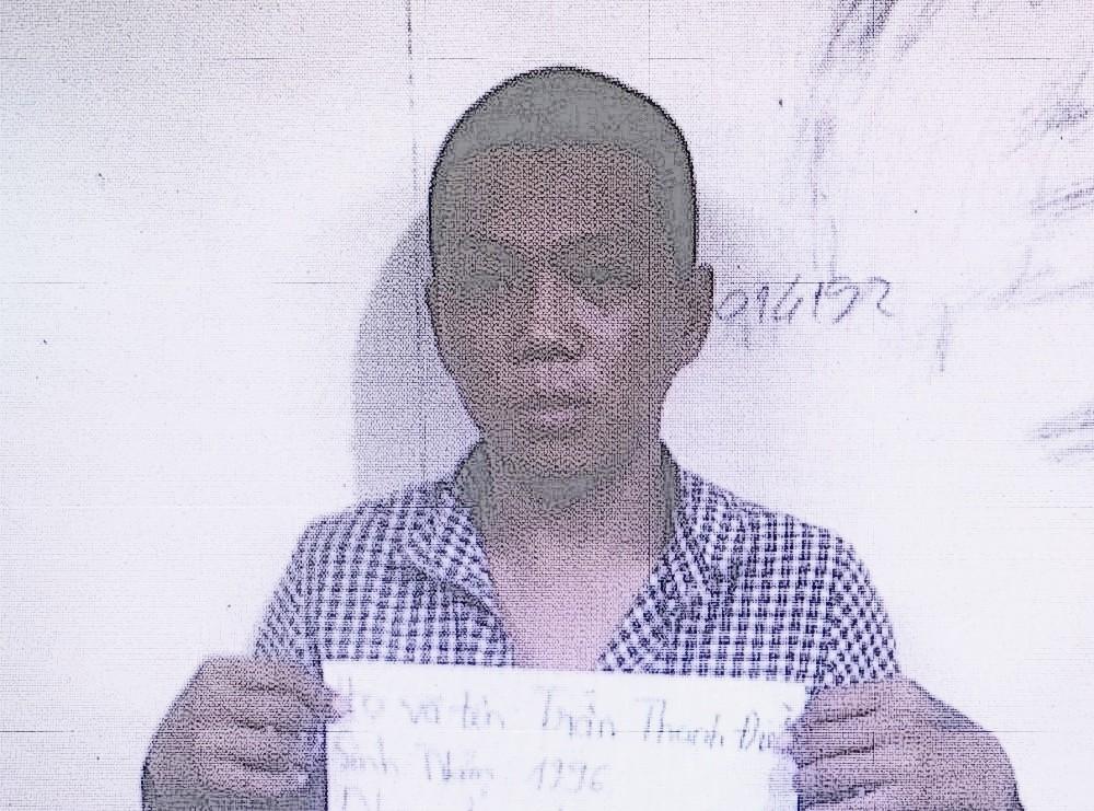 Đối tượng Trần Thanh Điền được xác định là người cầm dao xông vào chốt phòng chống dịch