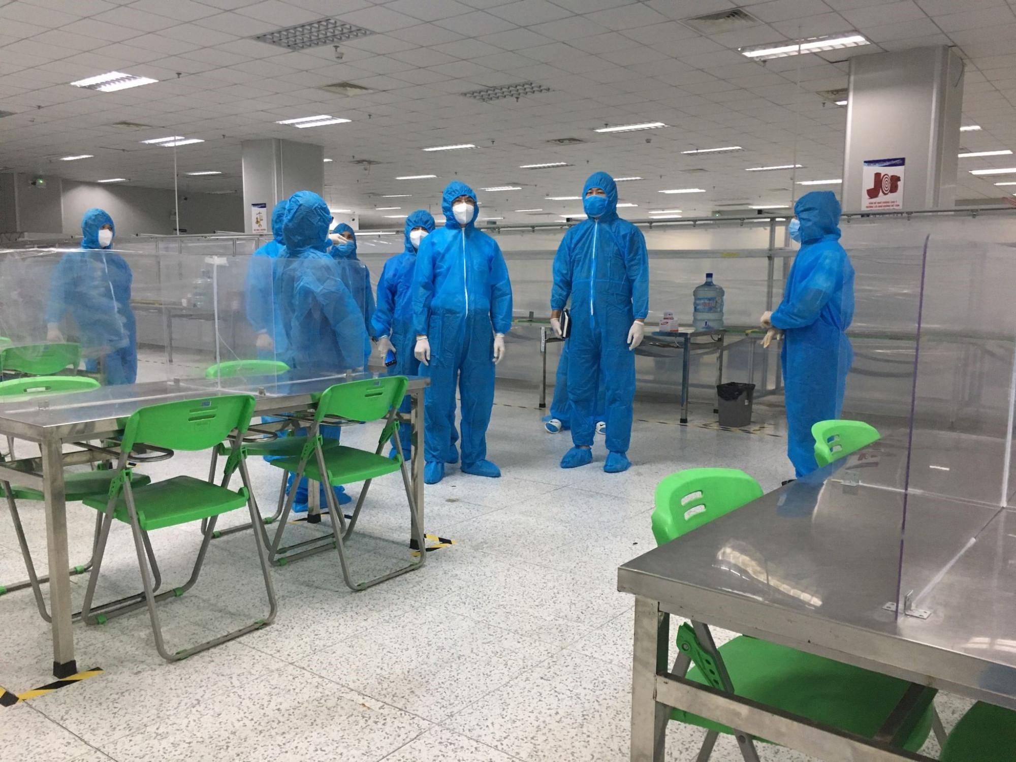 Lãnh đạo Sở Y tế Bắc Ninh cho rằng, các ca dương tính đã ủ bệnh trước khi quay trở lại làm việc