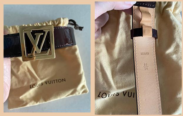 Chiếc thắt lưng LV unisex này được bán với giá 5 triệu và cũng thuộc nhóm sản phẩm chưa được người đẹp dùng tới.