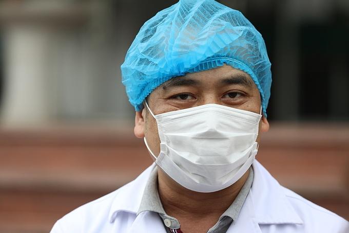 Bác sĩ Nguyễn Trung Cấp cho biết