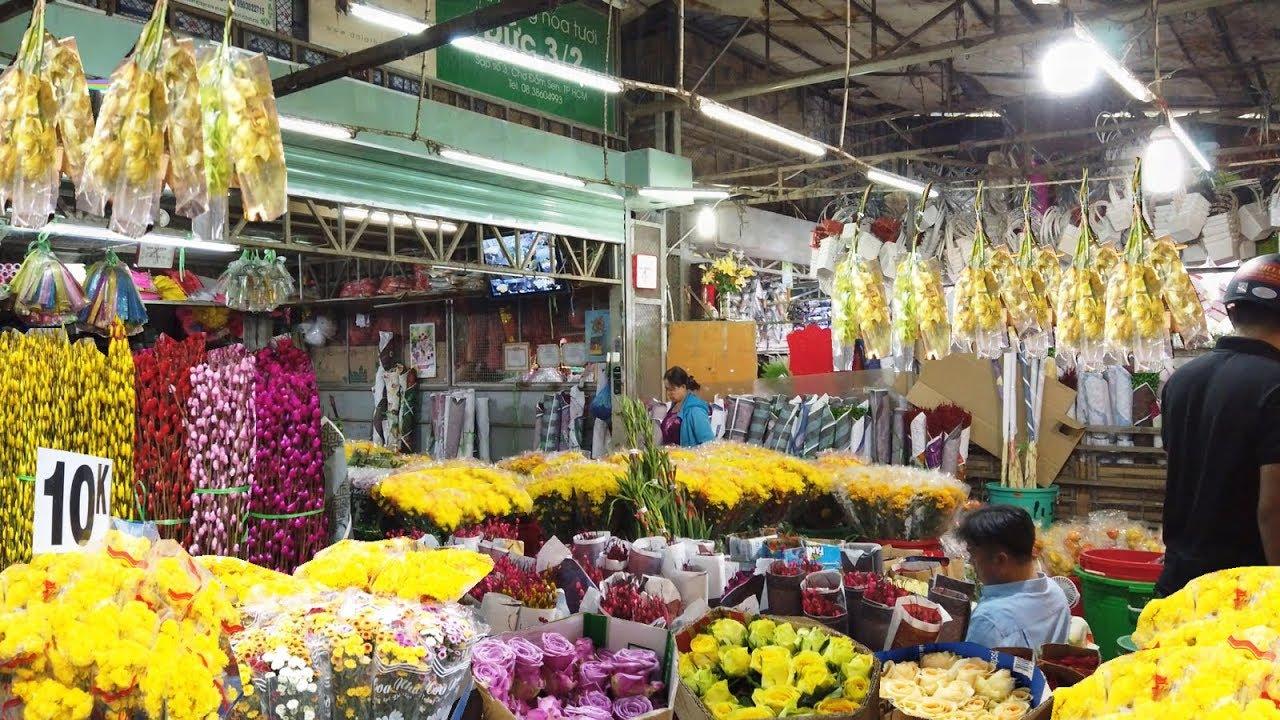 Chợ hoa Đầm Sen, quận 11, TP HCM sẽ hoạt động trở lại từ ngày 11 – 13/6/2021.