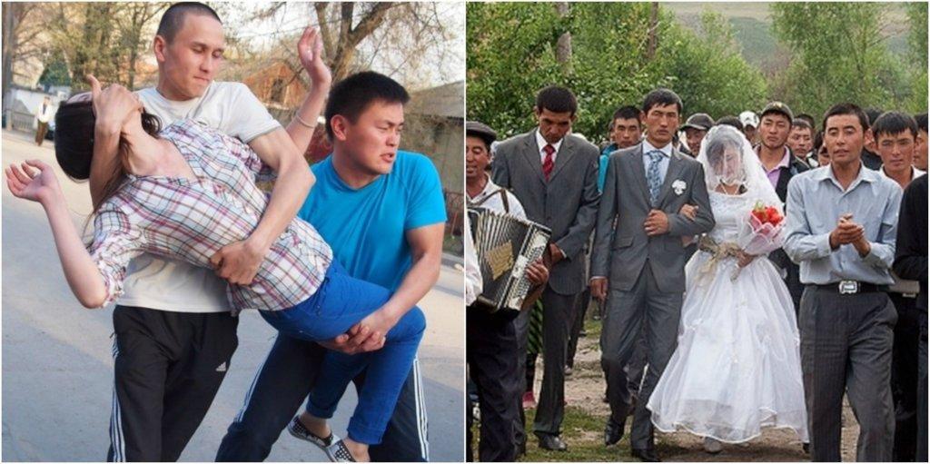 Hàng chục ngàn thiếu nữ Kyrgyzstan bị bắt cóc và ép buộc kết hôn mỗi năm - Ảnh: World Justice Project