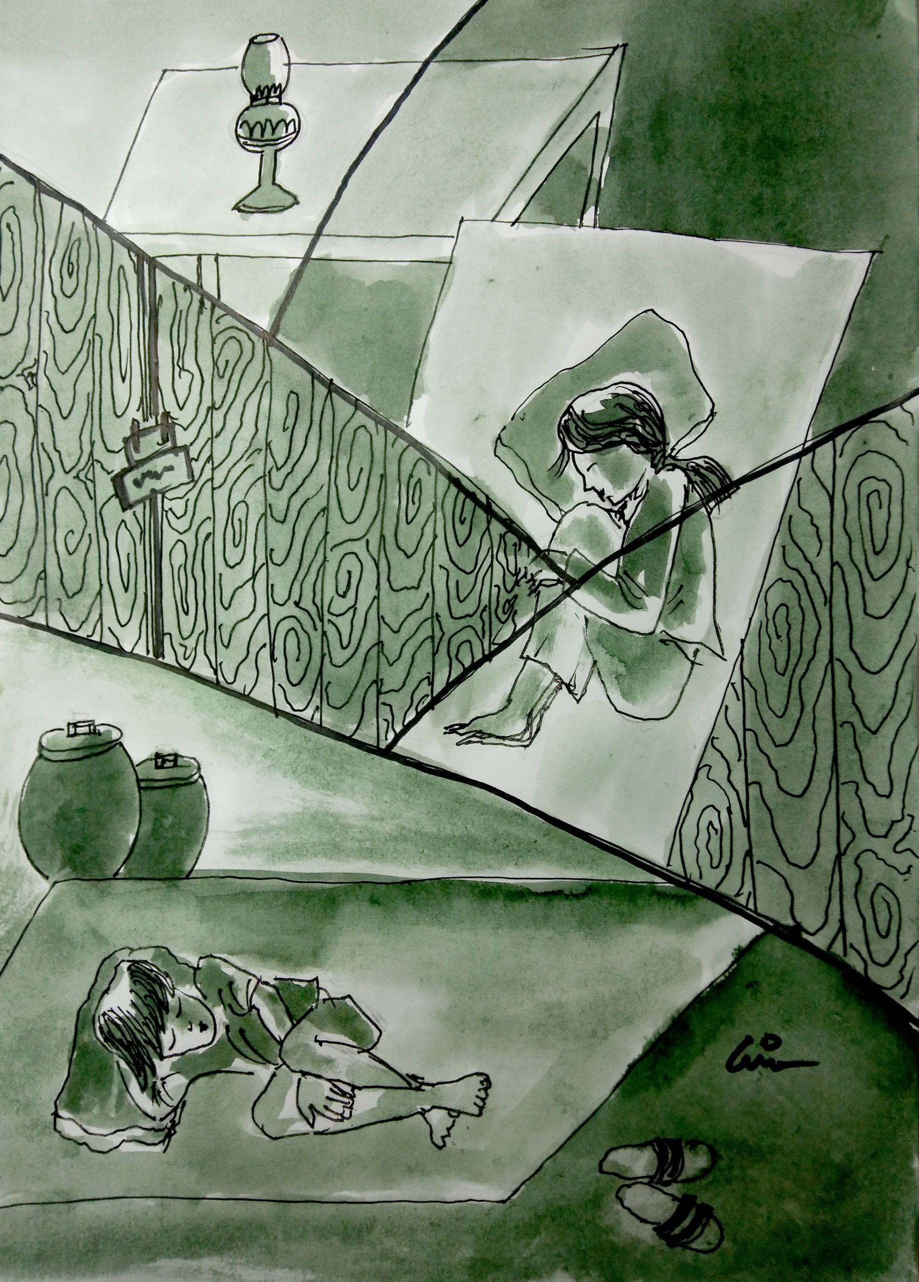 Những bức họa cùng dẫn dắt cảm xúc của người đọc trong tác phẩm tái bản