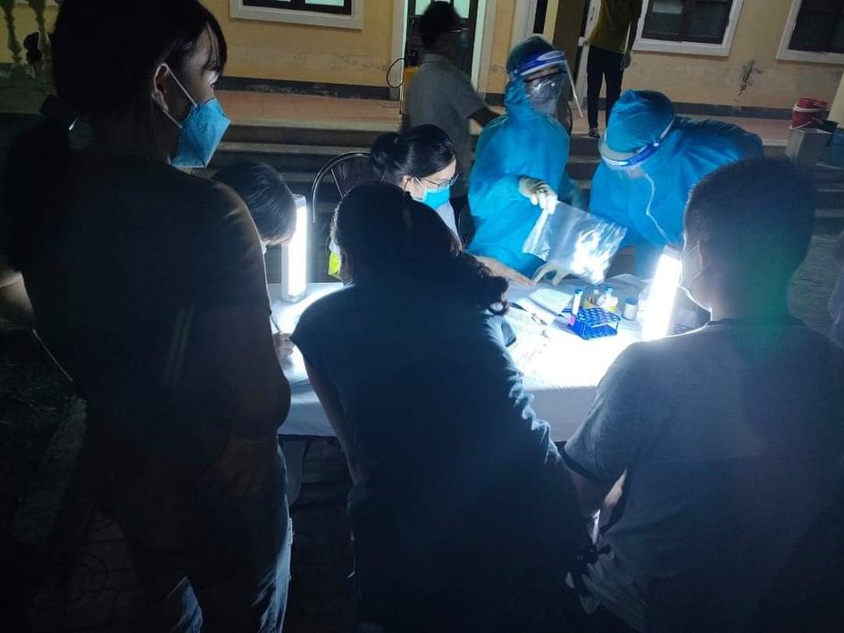 Hà Tĩnh hoàn tất lấy mẫu xét nghiệm cho hơn 24.000 hộ dân TP.Hà Tĩnh