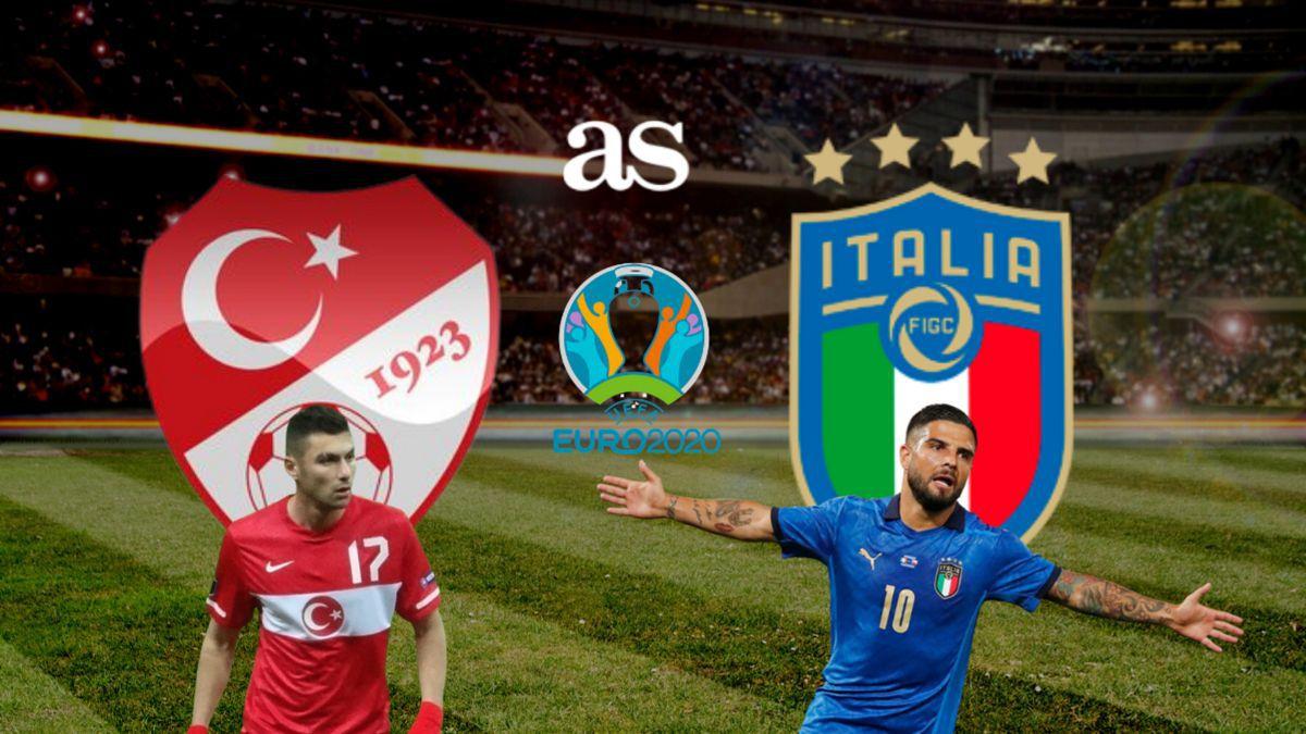 Ngay sau lễ khai mạc, trận đấu mở màn EURO 2020 giữa Italia và Thổ Nhĩ Kỳ (bảng A) đã được diễn ra vào lúc 2 giờ sáng ngày 12/6..
