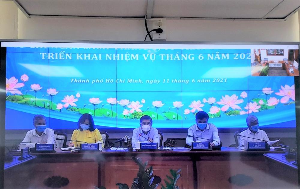 Chủ tịch UBND TPHCM Nguyễn Thành Phong cho rằng cần đẩy mạnh giải ngân đầu tư công để thúc đẩy kinh tế TP tiếp tục phát triển.