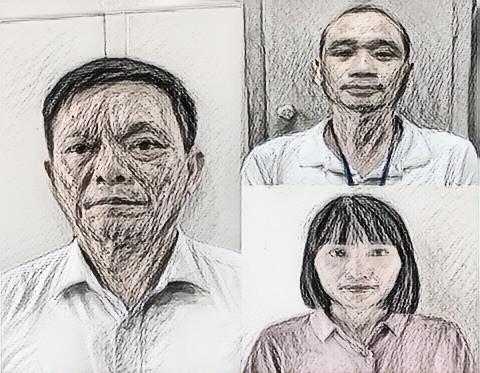 Ba bị can bị bắt giam