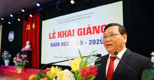 Cách chức Hiệu trưởng đối với ông Trần Minh Hùng