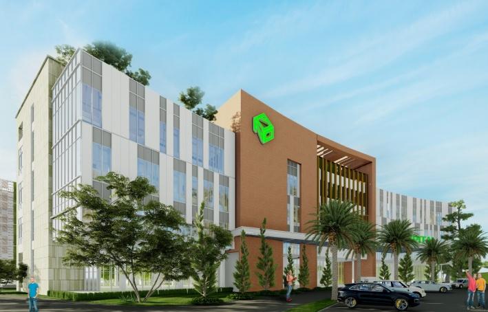 Bệnh viện đa khoa quốc tế tại Aqua City