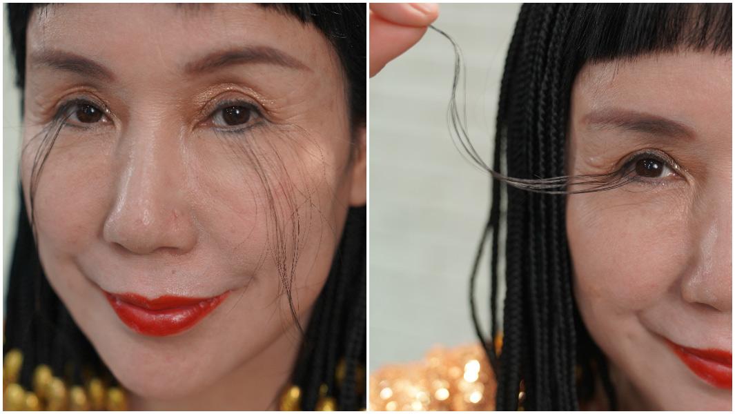 Cô You Jianxia với cặp lông mi dài nhất thế giới của mình - Ảnh: Guinness World Records