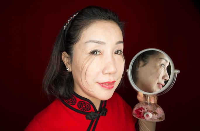 Cặp lông mi của cô ou Jianxia năm 2017 - Ảnh: Guinness World Records