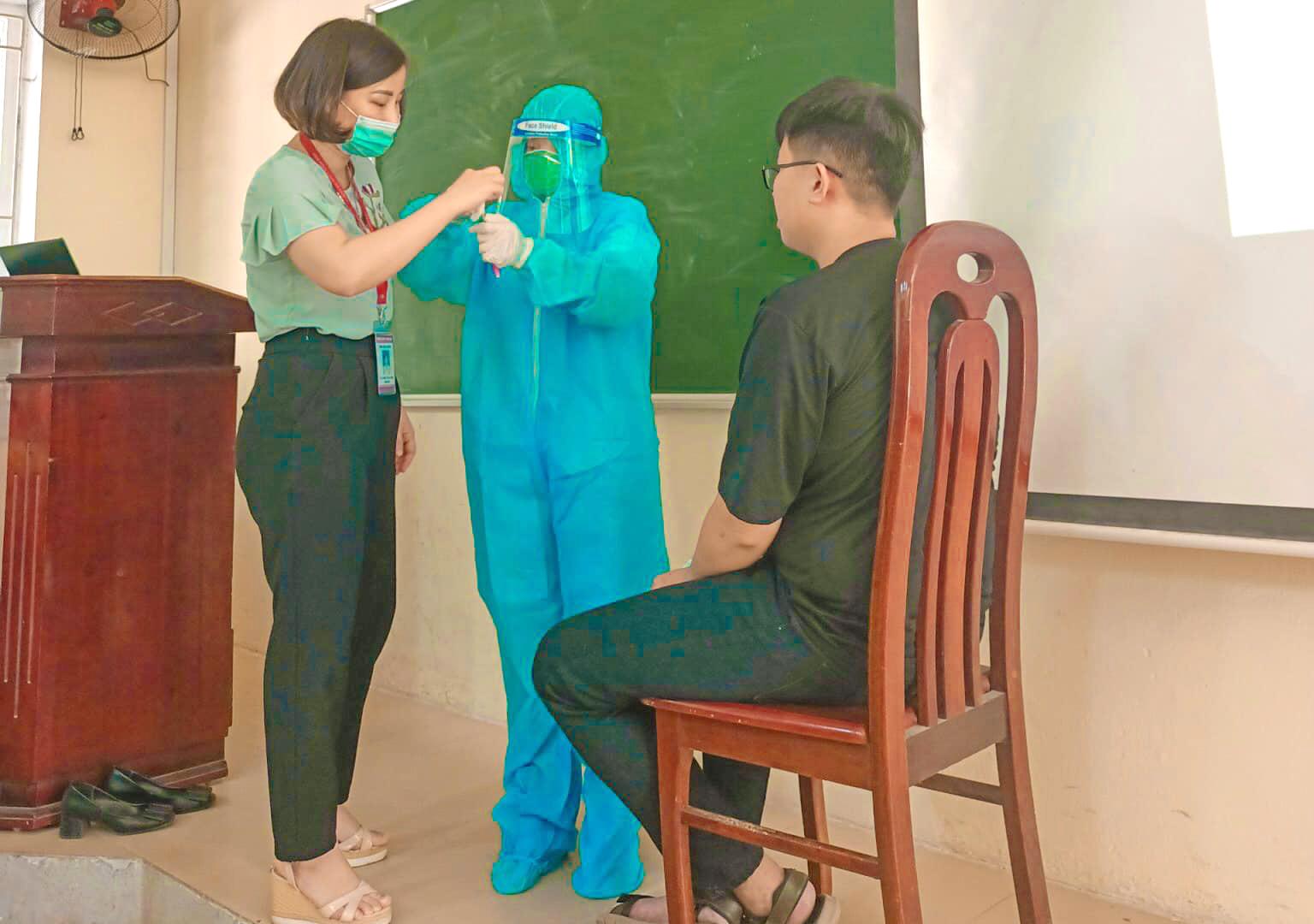 Là một bác sĩ trong tương lai, nhiều sinh viên mong muốn được đóng góp chút sức mọn của mình trong công tác phòng chống dịch
