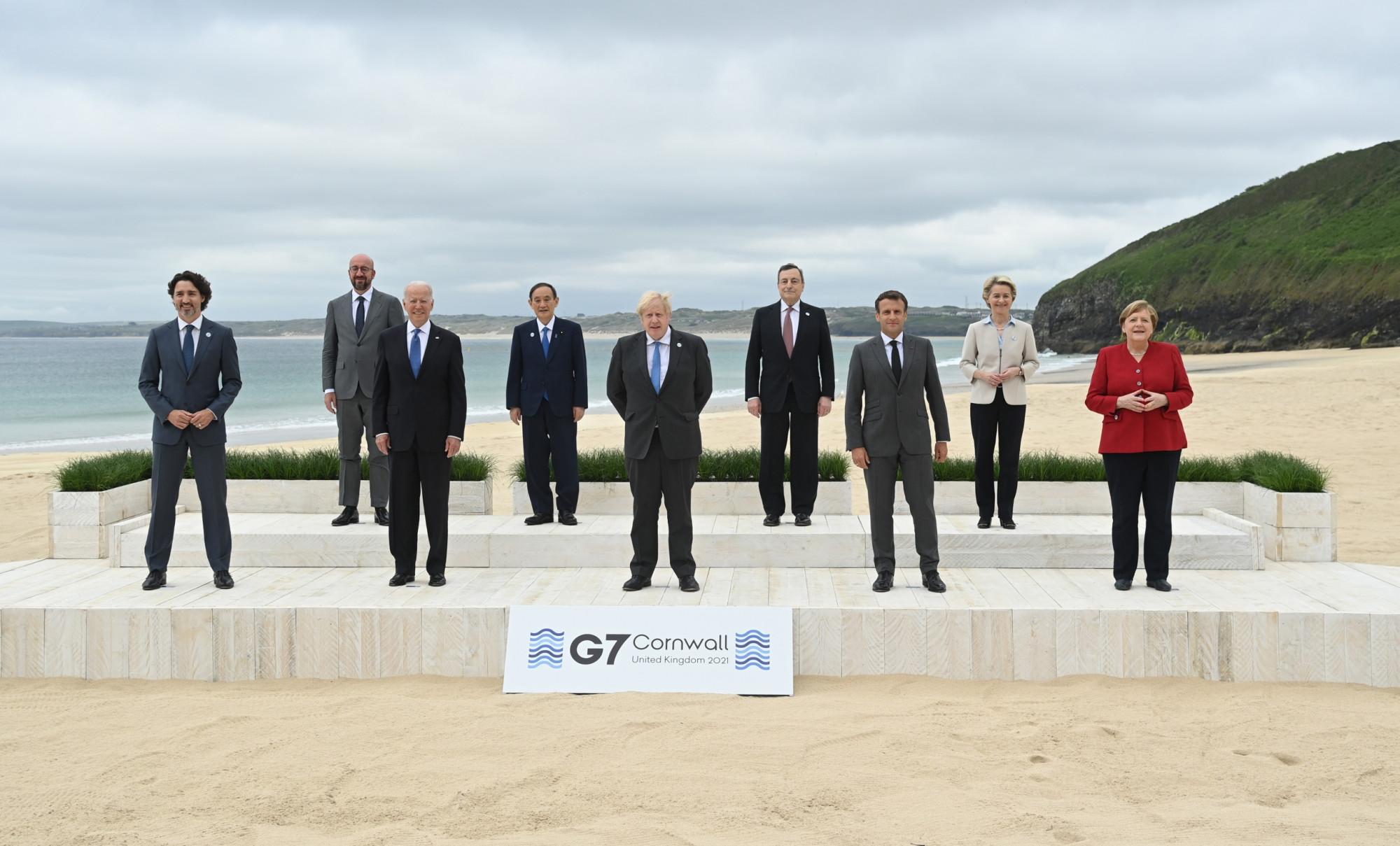 Hội nghị thượng đỉnh các nước G7 hiện đang diễn ra từ 11–13/6/2021 tại Cornwall , Anh