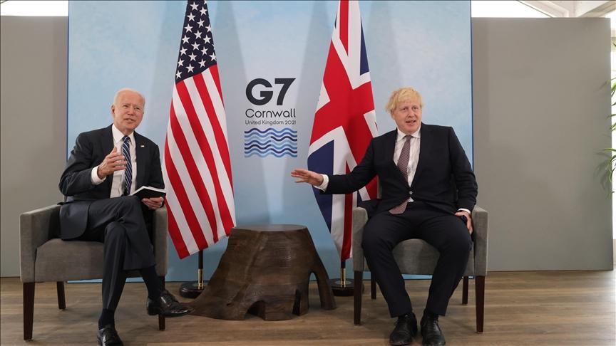 Mỹ thúc giục các thành viên khác của G7 đưa ra tiếng nói mạnh hơn về vấn đề Trung Quốc