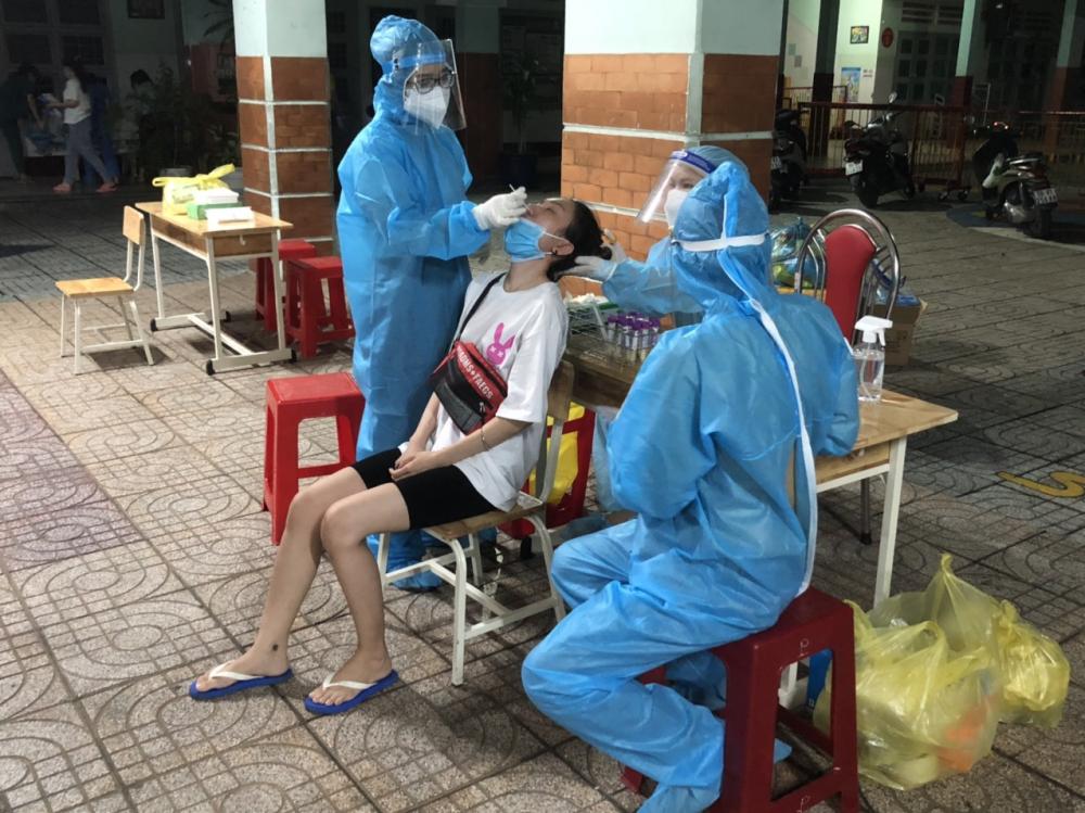 Quận Gò Vấp đã tổ chức lấy mẫu xét nghiệm 184.771 mẫu.
