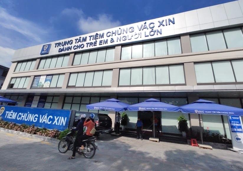 Trung tâm tiêm chủng VNVC dừng hoạt động từ ngày 13/6