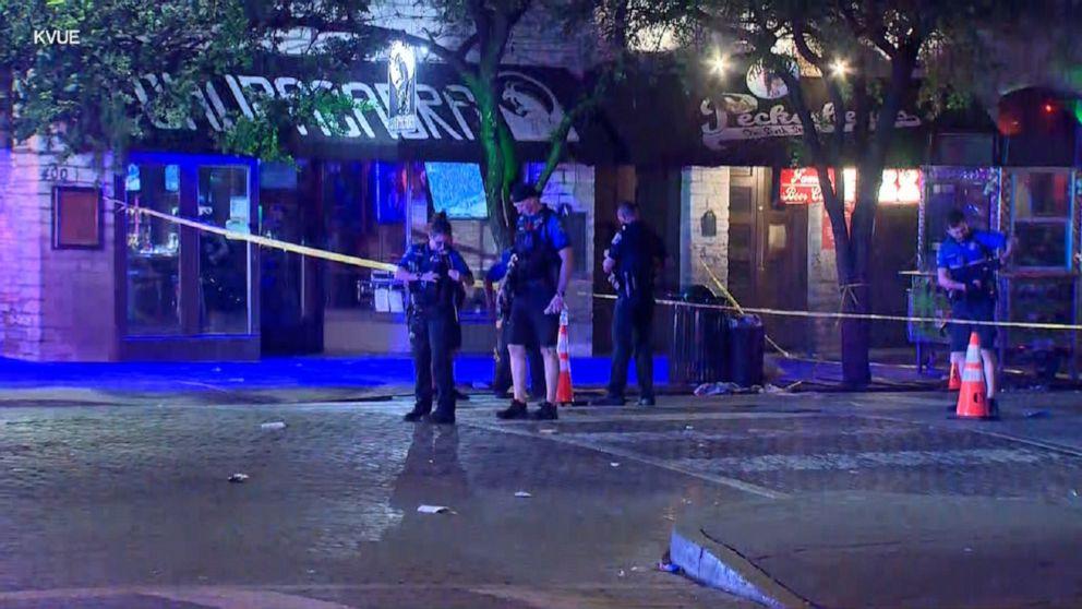 39 người bị thương, 5 người chết trong các vụ xả súng trên khắp nước Mỹ vào cuối tuần qua - Ảnh: ABC News