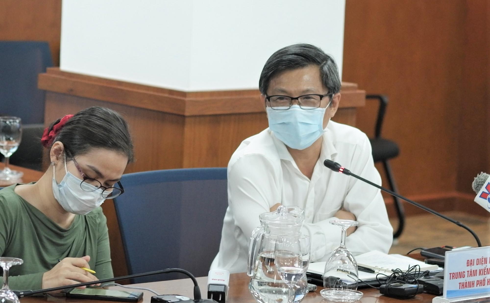 BS Nguyễn Trí Dũng - Giám đốc Trung tâm Kiểm soát bệnh tật TPHCM